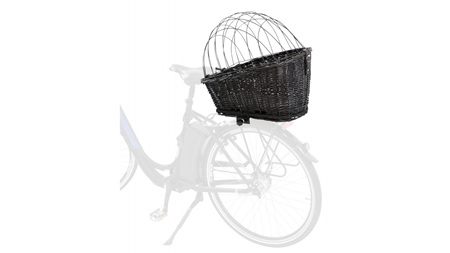Bicycle Basket with Lattice for Bike Rack