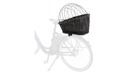 Bicycle Basket with Lattice for Bike Rack