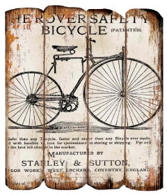 Bicycle Heroversafety - Plaque