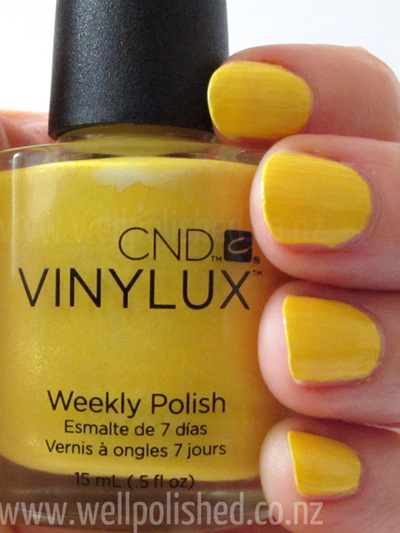 Bicycle Yellow Vinylux