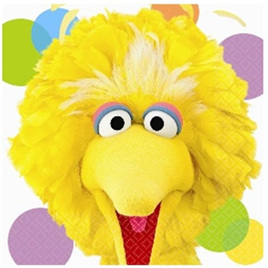 Big Bird - Lunch Napkins