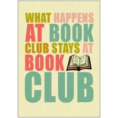 Book Club Fridge Magnet