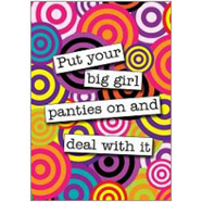 Big Girl Pants Fridge Magnet