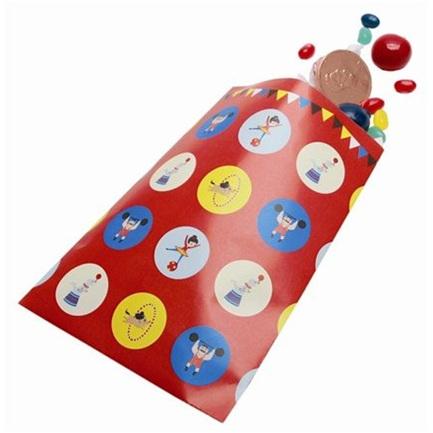 Big Top Circus Loot Bags x 12