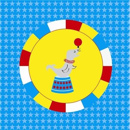 Big Top Circus Napkins x 20