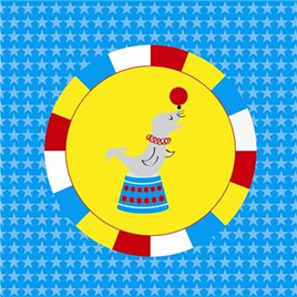 Big Top Circus Napkins x 20