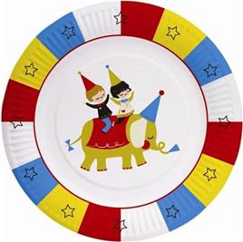 Big Top Circus Plates x 8