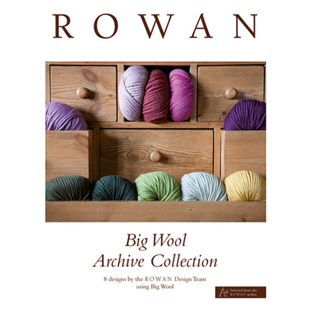 Big Wool Archive Collection - 8 Designs by Rowan