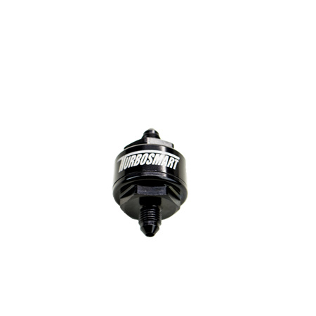 BILLET TURBO OIL FEED FILTER 44UM -3AN - BLACK  TS-0804-1001
