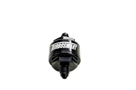 BILLET TURBO OIL FEED FILTER 44UM -4AN - BLACK  TS-0804-1002
