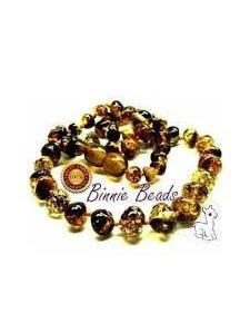 Binnie Beads Baltic Amber Teething Necklace