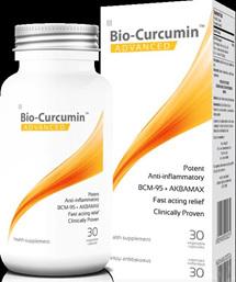 Bio-curcumin Advanced capsules 60's