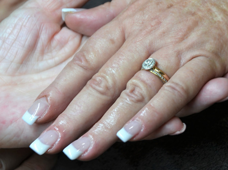 Bio Sculpture Gel Nails Full Set with Tips