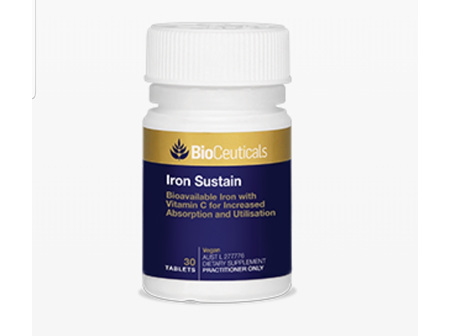 BioCeutical Iron Sustain 30tabs