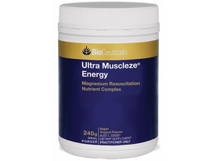 BioCeutical Ultra Muscleze Energy 240g