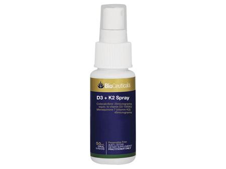 BioCeuticals D3 + K2 Spray 50mL