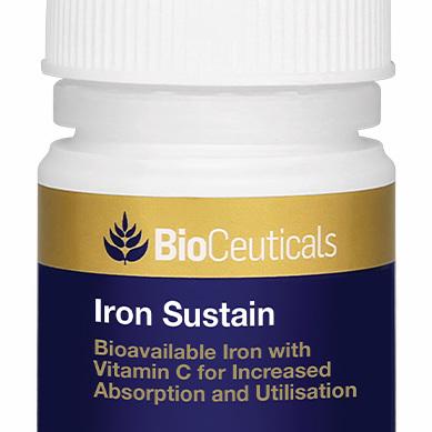 BioCeuticals Iron Sustain 30 Tablets