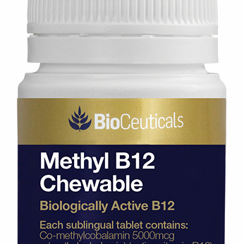 BioCeuticals Methyl B12 Chewable 60 Sublingual Tablets