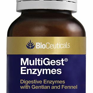 BioCeuticals MultiGest Enzymes 90 Capsules