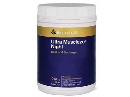 BioCeuticals Muscleze Night Lemon Powder 240g