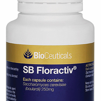 BioCeuticals SB Floractiv 120 Capsules