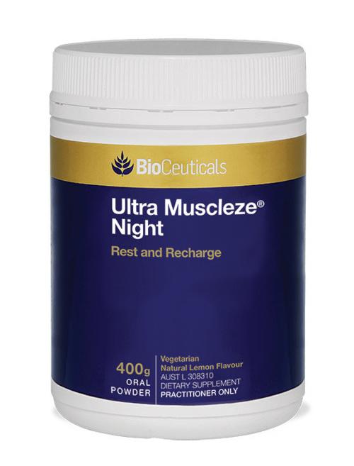 BioCeuticals Ultra Muscleze Night Powder 400g