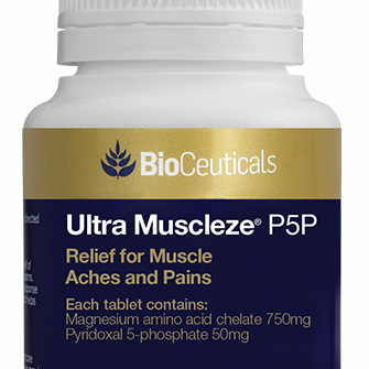 BioCeuticals Ultra Muscleze P5P 60 Tablets