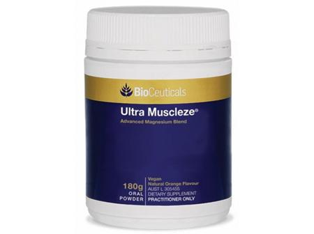 BioCeuticals Ultra Muscleze Powder Natural Orange 180g