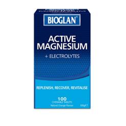 BIOGLAN MAGNESIUM + ELECTROLYTE CHEWABLE 100 TABLETS