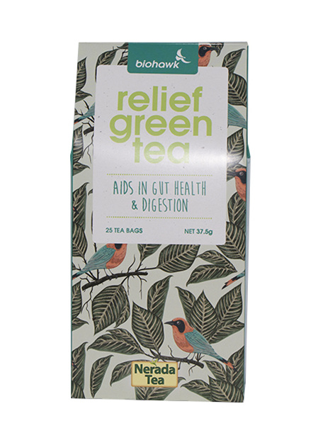 Biohawk Relief Green Tea