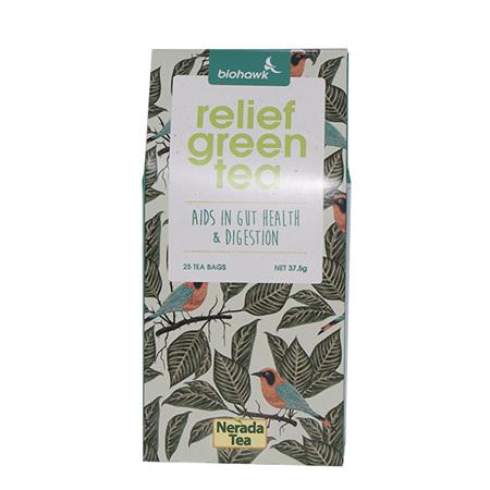 Biohawk Relief Green Tea