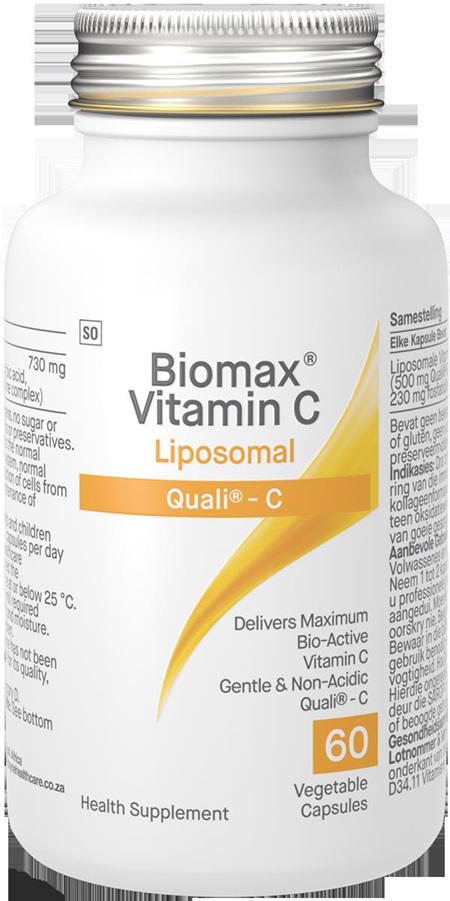 Biomax Vitamin C 60 Liposomal Capsules