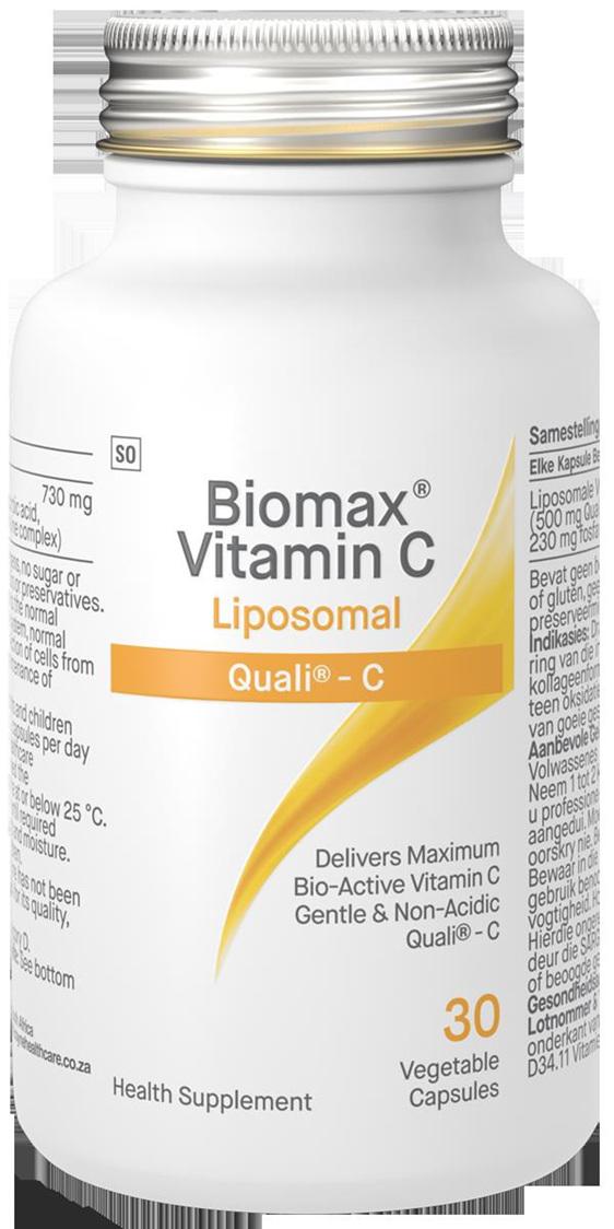 Biomax Vitamin C Liposomal capsules 30's