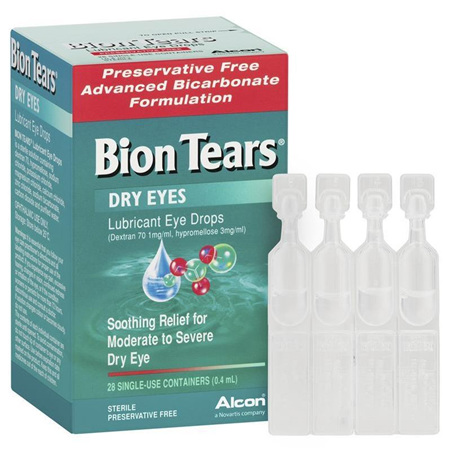 BION TEARS EYE DROPS 0.4ML SINGLE USE 28 PACK