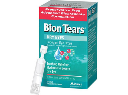 Bion Tears Lubricant Eye Drops 28x 04ml