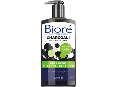 Biore Charcoal Cleanser  200mL
