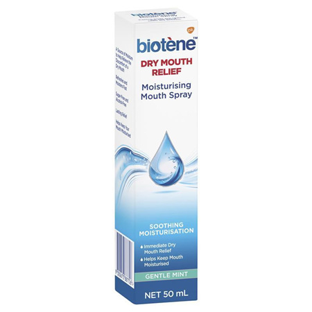 Biotene Dry Mouth Relief Moisturising Mouth Spray 50ml