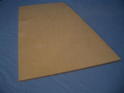 Birch Ply Sheet  3/16 x 300mm x 600mm