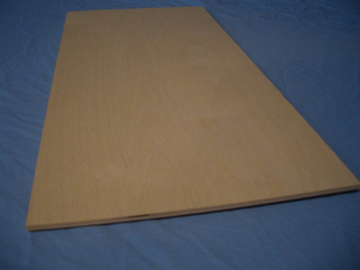 Birch Plywood 1/4  x 300mm x 600mm