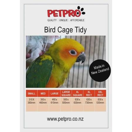 Bird Cage Tidy