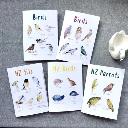 Bird Cards (A6)