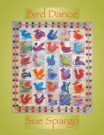 Bird Dance by Sue Spargo