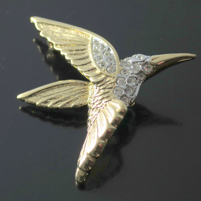 Bird design brooches