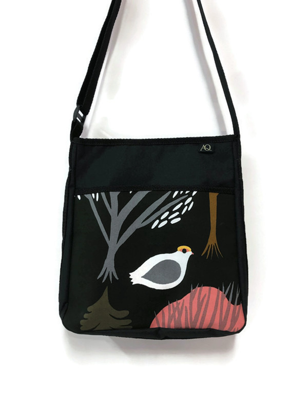 Bird on a bag!  Free shipping in NZ and made in NZ