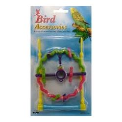 Bird Swing & Perch Wheel