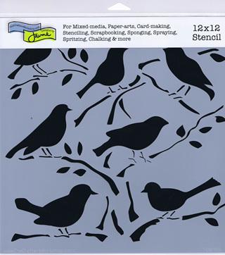 Birds 12 x 12
