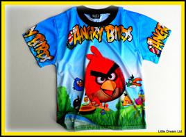 """Birds on Blue"""