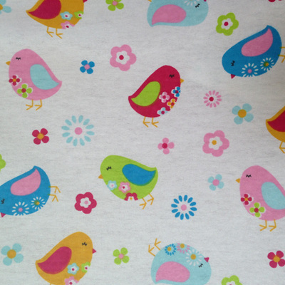 Birds Printed Wincey
