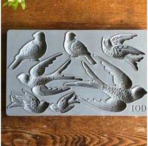 Birdsong IOD Decor Mould