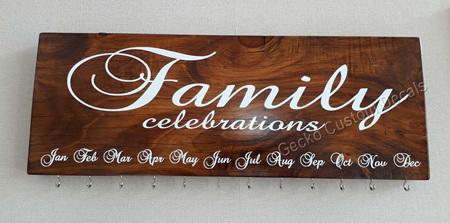 Birthday Board - Birthdays or Celebrations Text